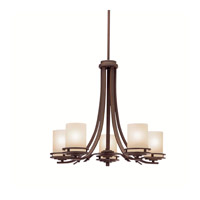 Kichler 1672OZ Hendrik 5 Light 25 inch Olde Bronze Chandelier Ceiling Light