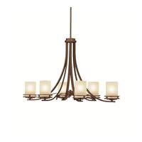 Kichler 1673OZ Hendrik 6 Light 18 inch Olde Bronze Chandelier Ceiling Light