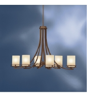 Kichler Lighting Hendrik 6 Light Chandelier in Olde Bronze 1673OZ