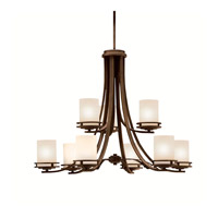 Kichler Lighting Hendrik 9 Light Chandelier in Olde Bronze 1674OZ photo thumbnail