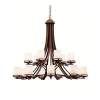 Kichler Lighting Hendrik 15 Light Chandelier in Olde Bronze 1675OZ photo thumbnail