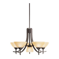 Kichler Lighting Olympia 6 Light Chandelier in Olde Bronze 1676OZ photo thumbnail