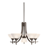 Kichler Olympia 6 Light Chandelier in Olde Bronze 1676OZW photo thumbnail