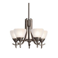 Kichler Lighting Olympia 5 Light Mini Chandelier in Olde Bronze 1678OZW photo thumbnail