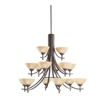 Kichler Lighting Olympia 15 Light Chandelier in Olde Bronze 1681OZ