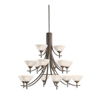 Kichler Lighting Olympia 15 Light Chandelier in Olde Bronze 1681OZW photo thumbnail