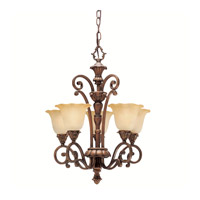 Kichler Lighting Cheswick 5 Light Mini Chandelier in Parisian Bronze 1696PRZ photo thumbnail