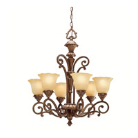 Kichler Lighting Cheswick 6 Light Chandelier in Parisian Bronze 1697PRZ photo thumbnail