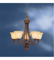 Kichler Lighting Northam 5 Light Chandelier in Lincoln Bronze 1724LBZ alternative photo thumbnail