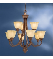 Kichler Lighting Northam 9 Light Chandelier in Lincoln Bronze 1725LBZ alternative photo thumbnail