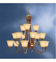 Kichler Lighting Northam 15 Light Chandelier in Lincoln Bronze 1726LBZ