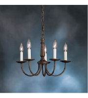 Kichler 1770TZ Salem 5 Light 17 inch Tannery Bronze Chandelier Ceiling Light alternative photo thumbnail