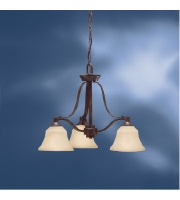 Kichler Lighting Langford 3 Light Chandelier in Canyon Slate 1781CST alternative photo thumbnail