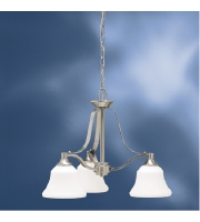 Kichler Lighting Langford 3 Light Chandelier in Brushed Nickel 1781NI alternative photo thumbnail