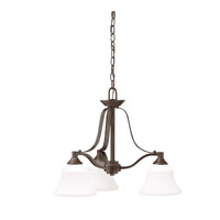 Kichler 1781OZL16 Langford LED 22 inch Olde Bronze Chandelier Ceiling Light, Medium
