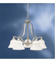 Kichler 1782NI Langford 5 Light 25 inch Brushed Nickel Chandelier Ceiling Light alternative photo thumbnail