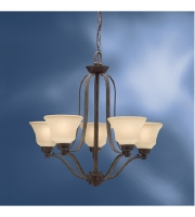 Kichler Lighting Langford 5 Light Chandelier in Canyon Slate 1783CST alternative photo thumbnail