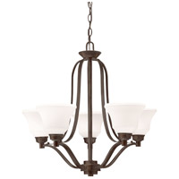 Kichler 1783OZ Langford 5 Light 27 inch Olde Bronze Chandelier Ceiling Light