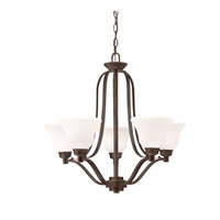 Langford LED 28 inch Olde Bronze Chandelier Ceiling Light, Medium