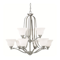 Langford LED 33 inch Brushed Nickel Chandelier Ceiling Light