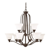 Kichler 1784OZL16 Langford LED 33 inch Olde Bronze Chandelier Ceiling Light