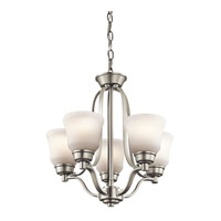 Langford LED 17 inch Brushed Nickel Mini Chandelier Ceiling Light