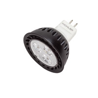 Kichler Lighting Landscape LED MR16 4W 12V 3000K 40 deg Lamp in Clear 18007 photo thumbnail