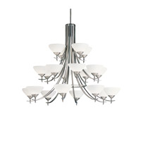 Kichler Lighting Olympia 20 Light Chandelier in Antique Pewter 1861AP
