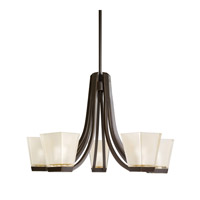 Kichler Lighting Urban Ice 5 Light Chandelier in Olde Bronze 1957OZ photo thumbnail