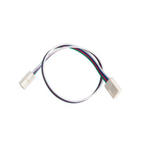 Kichler Lighting LED Tape Interconnect RGB 12in in White Material 1IC12RGBWH
