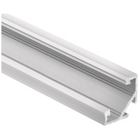 Kichler 1TEC145SF8SIL ILS TE Series Silver Tape Extrusion Channel