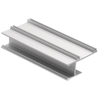 Kichler 1TEC1DC1DW8SIL ILS TE Series Silver 96 inch Tape Light Channel