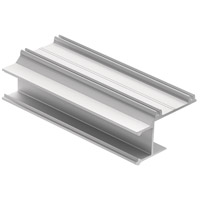 Kichler 1TEC1DC2DW8SIL ILS TE Series Silver 96 inch Tape Light Channel