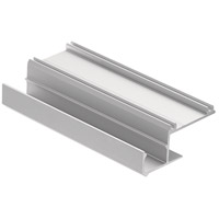 Kichler 1TEC1IC1DW8SIL ILS TE Series Silver 96 inch Tape Light Channel