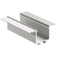 Kichler 1TEC2DMRC8SIL ILS TE Series Silver 96 inch Tape Light Channel