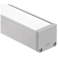 Kichler 1TEC2DWSF8SIL ILS TE Series Silver 96 inch LED Tape Light Channel