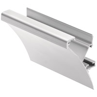 Kichler 1TEC2M1SF8SIL ILS TE Series 96 inch Silver LED Tape Light Channel