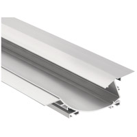 Kichler 1TEC2W2RC8SIL ILS TE Series Silver 96 inch Tape Light Channel