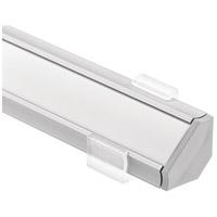 Kichler 1TEK145SF2SIL ILS TE Series Silver 24 inch LED Tape Light Channel