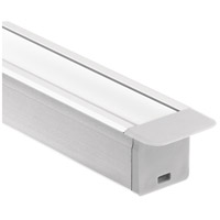 Kichler 1TEK1DWRC8SIL ILS TE Series Silver 97 inch LED Tape Light Channel