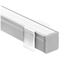 Kichler 1TEK1DWSF2SIL ILS TE Series Silver 24 inch LED Tape Light Channel