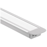 Kichler 1TEK1STRC2SIL ILS TE Series Silver 25 inch LED Tape Light Channel