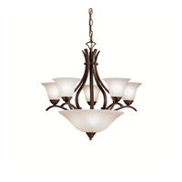Kichler Lighting Dover 8 Light Chandelier in Tannery Bronze 2018TZ photo thumbnail