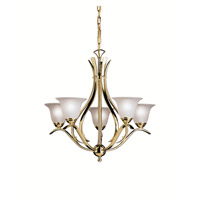 Kichler Lighting Dover Chandelier in Polished Brass 2020PB photo thumbnail