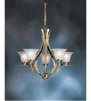 Kichler Lighting Dover Chandelier in Polished Brass 2020PB