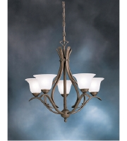 Kichler Lighting Dover 5 Light Chandelier in Tannery Bronze 2020TZ alternative photo thumbnail