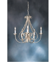 Kichler 2021NI Dover 5 Light 26 inch Brushed Nickel Chandelier Ceiling Light alternative photo thumbnail