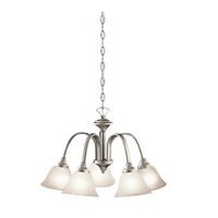 Kichler 2022NI Hastings 5 Light 23 inch Brushed Nickel Chandelier Ceiling Light