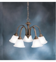 Kichler Lighting Hastings 5 Light Chandelier in Tannery Bronze 2022TZ alternative photo thumbnail