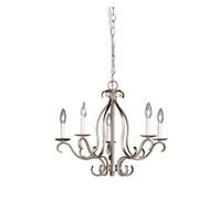 Kichler Lighting Portsmouth 5 Light Chandelier in Brushed Nickel 2033NI